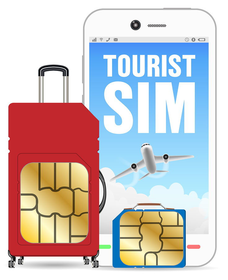 Prepaid Travel SIM Card