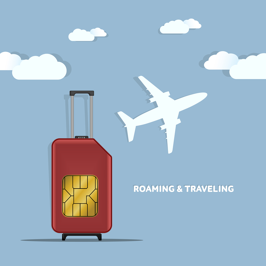 USA roaming free travel SIM card