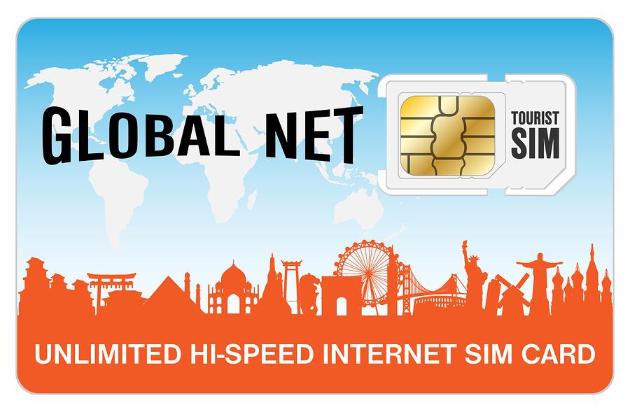 Pix World's international SIM card