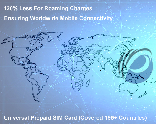 Universal World Prepaid SIM Card
