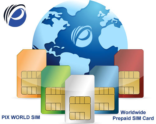 Worldwide Prepaid SIM Cards