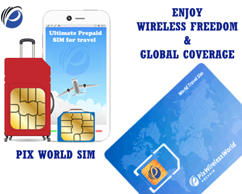 Worldwide Travel SIM Card