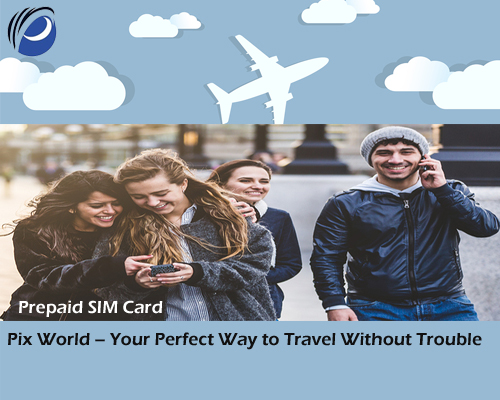 Universal Travel Prepaid SIM Card