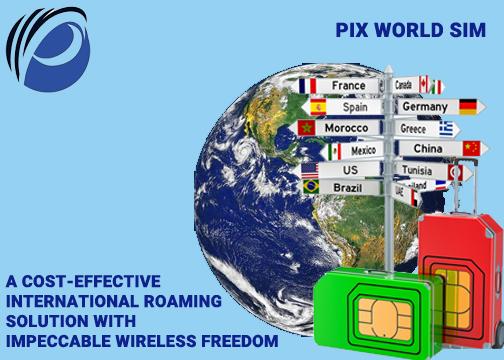 Worldwide Travel Prepaid SIM Card