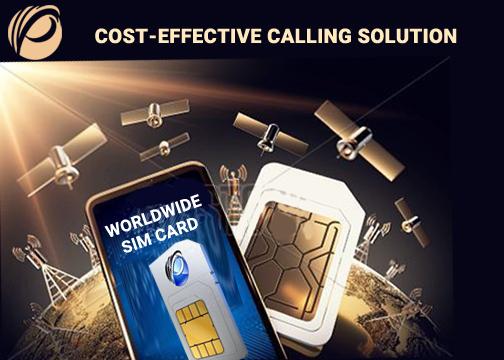 Worldwide Prepaid SIM card